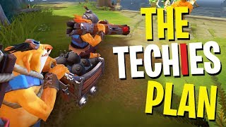 The Techies Plan - DotA 2 Funny Moments