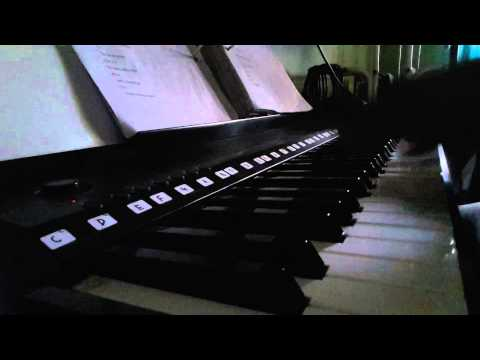 KELIRU - piano n sing  cover by zack zaini