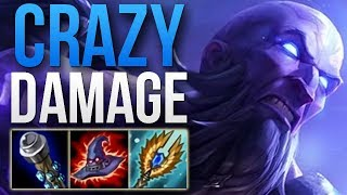 WTF IS THIS DAMAGE? CHALLENGER RYZE APC PENTAKILL CARRY GAMEPLAY | RYZE BOT GAMEPLAY | Patch 8.24 S8