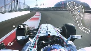 Valtteri Bottas Sets Sochi Scorcher | 2014 Russian Grand Prix