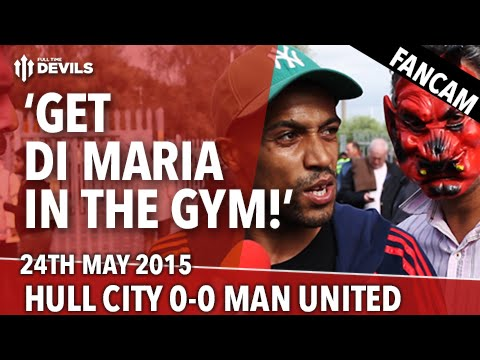 'Get Di Maria In The Gym!'' | Hull City 0 - 0 Manchester United | Fancam