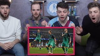 MANCHESTER CITY 4-3 TOTTENHAM | FAN REACTION