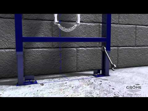grohe solido sein wc asennus youtube. Black Bedroom Furniture Sets. Home Design Ideas