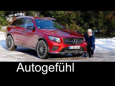 Mercedes-AMG GLC 43 FULL REVIEW test driven SUV V6 - Autogefühl