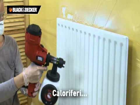 Black&Decker Pistola a spruzzo elettrica HVLP per murali HVLP200 - HVLP400 - Novità 2012!