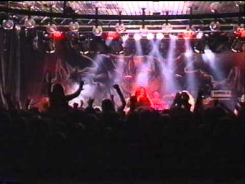 Iced Earth - Live @ Folkets Park, Motala, Sweden (16.02.2002) Almost full show