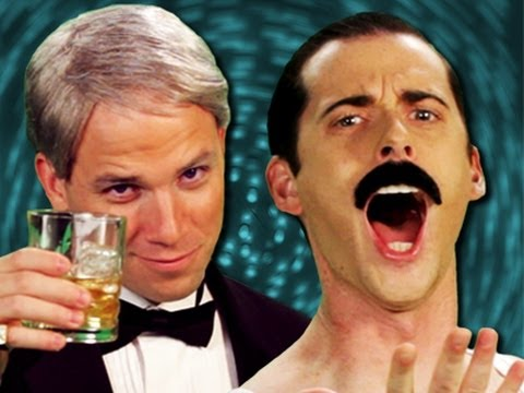 Frank Sinatra vs Freddie Mercury - Epic Rap Battles of History Season 2 Music Videos