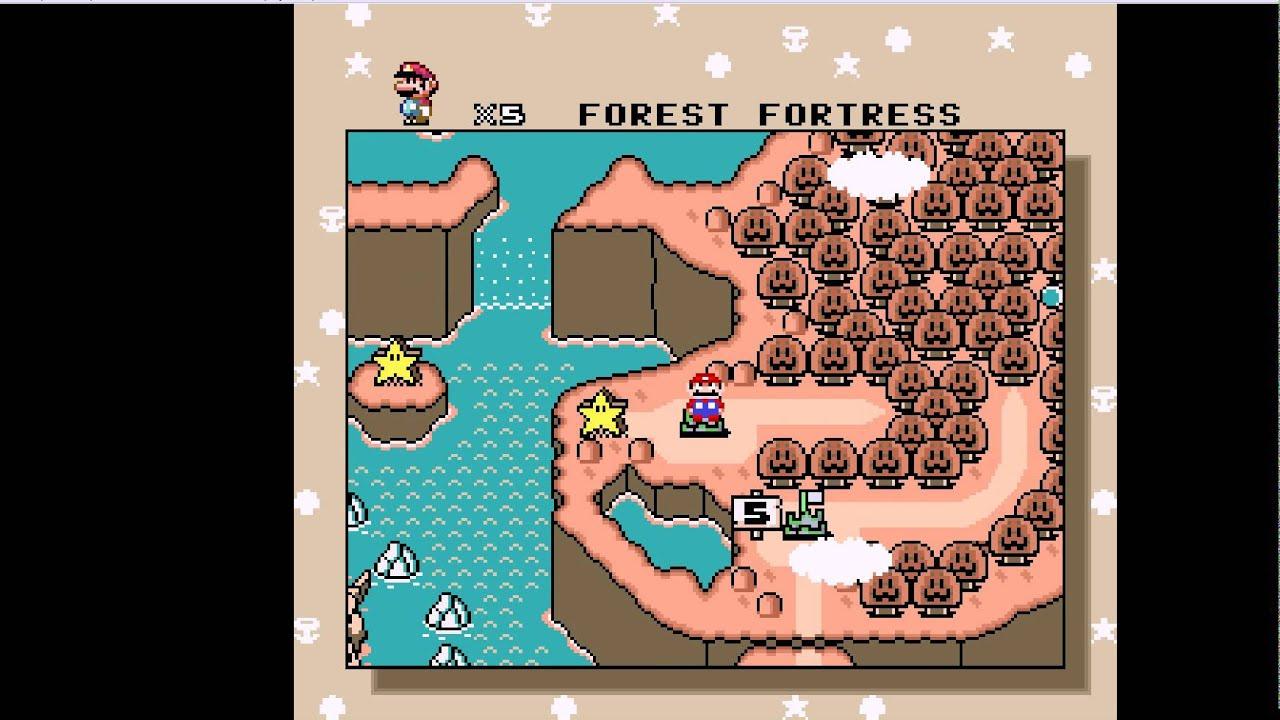 Mapa Completo Super Mario World Super Nintendo Super Mario World Mapa