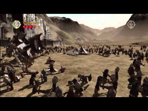 Lego Lord of the Rings:Lvl16/The Battle of Pelennor Fields-You and whos army Trophy/Achievement- HTG