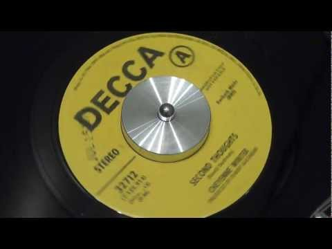 CHEYENNE WINTER - Second Thoughts - 1970 - DECCA