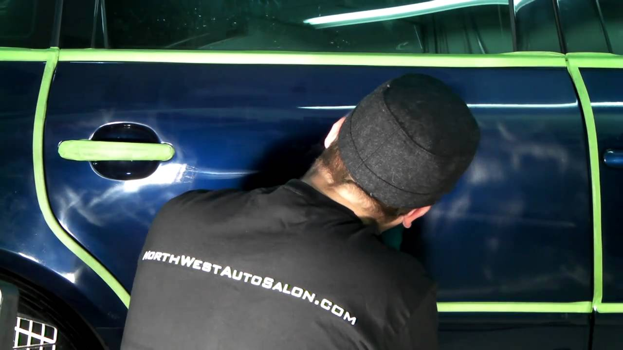 How To Remove Swirl Marks From Paint