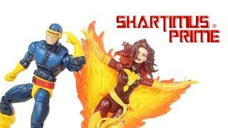 Marvel Legends Dark Phoenix and Cyclops TRU X Men 2-Pack Toys R Us Exclusive Action Figure Review