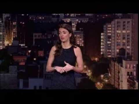 Carmen Lynch Comedian Carmen Lynch on The Late Show