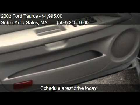 2002 Ford Taurus lx for sale in CHARLTON, MA 01507 at Subie