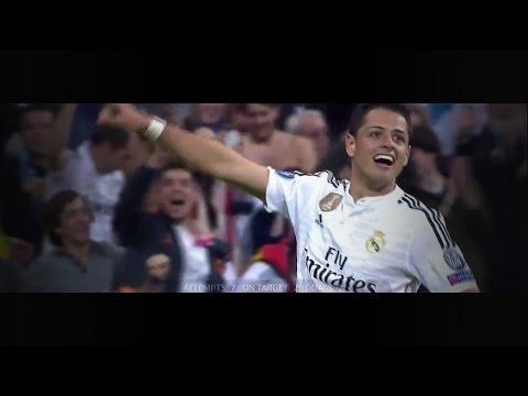 Javier Hernández vs Atlético Madrid (H) 14-15 HD 720p by i7xComps
