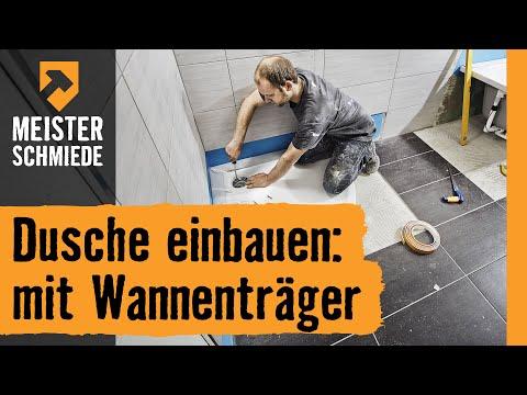 Badewanne Einbauen Mit Wannentrager Hornbach Meisterschmiede