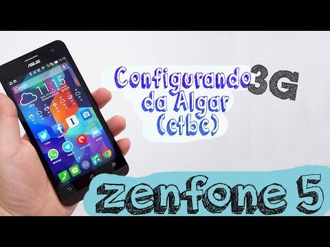 Como configurar 3g da Algar CTBC no Zenfone