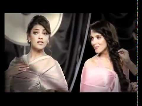 Asin & Kajal Agarwal Lux Ad video