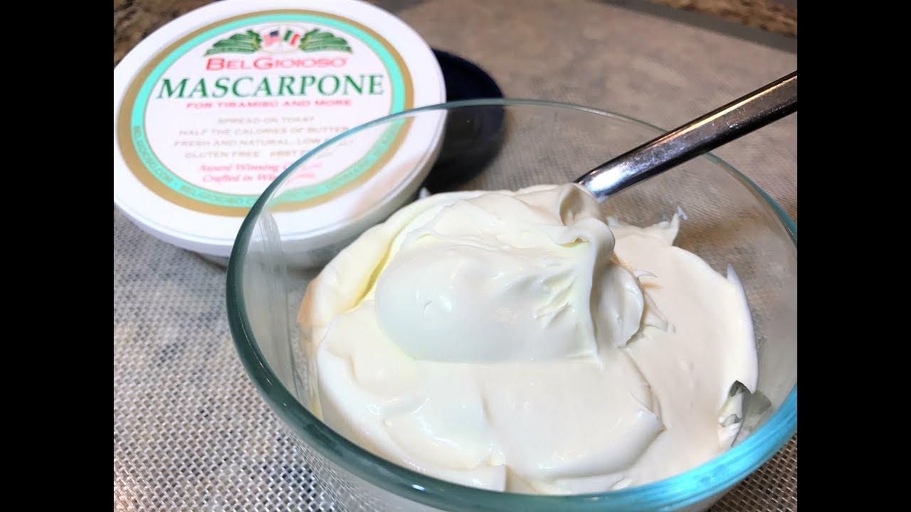 Крем сливки с маскарпоне рецепт