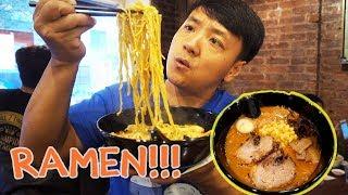 BEST Ramen Noodles in New York! New York City Ramen Noodle Tour Part 2