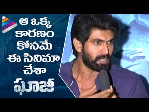 Rana Reveals the Only Reason for Doing Ghazi Attack Movie | Ghazi Telugu Movie Press Meet | Taapsee