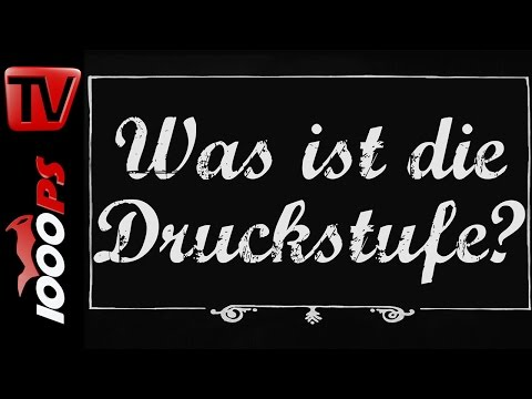 Was ist die Druckstufe? - Motorrad Lexikon