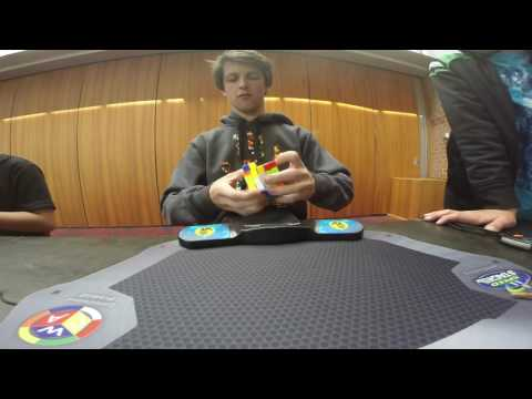5x5 Rubik's cube world record: 41.27 seconds