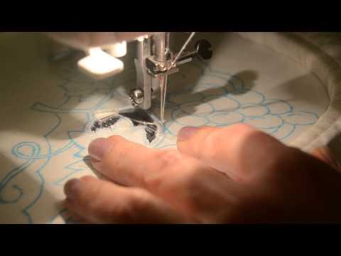 Подготовка швейной машины к вышивке 34