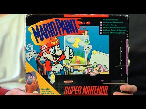 James & Mike Play: Mario Paint