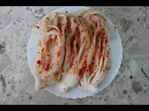 Как приготовить корейскую  капусту  КИМЧИ