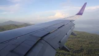 Batik Air PK-LBJ landing at Sam Ratulangi Airport in Manado