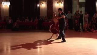 2016 Patricia and Matteo dance vals to Miedo at Cheltenham International Tango Festival