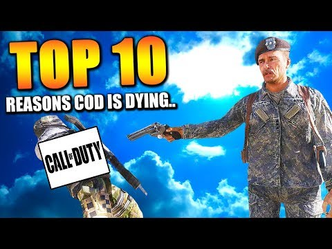 Top 10 Reasons COD is Dying | Chaos