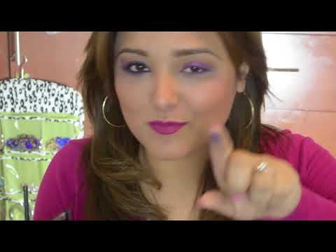 14 feb. Maquillaje suave y atrevido / makeup purple, pink and cooper eye shadow
