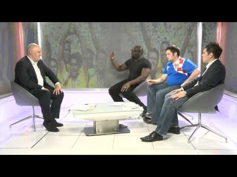 Sports Tonight Live Panel Discuss England World Cup 2014