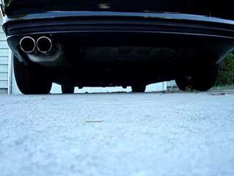 BMW 323ci Borla Exhaust