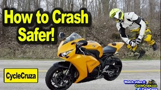 Motorcycle Crash Techniques to Avoid Injury! | MotoVlog