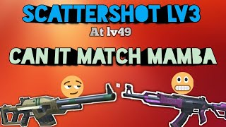 Scattershot lv3+ Ranger gameplay||Level 49||Can it compete Mamba||Guns of Boom