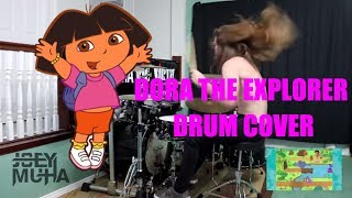 Dora The Explorer Theme DRUM COVER - JOEY MUHA