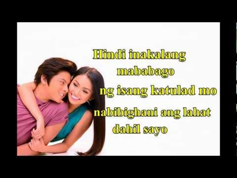 Nagkakulay Ang Mundo - Kathryn Bernardo and Daniel Padilla LYRICS