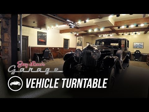 Jay's Other Garage: Vehicle Turntable - Jay Leno's Garage