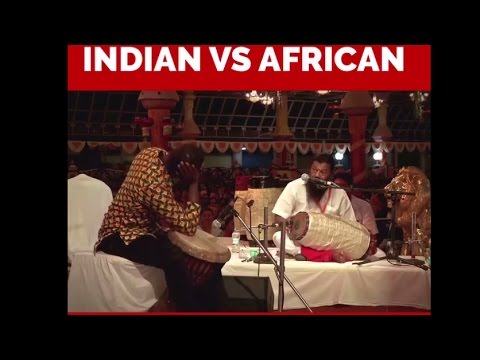 Indian vs African - Epic Instrument Battle - Watched anything like this??? thumbnail