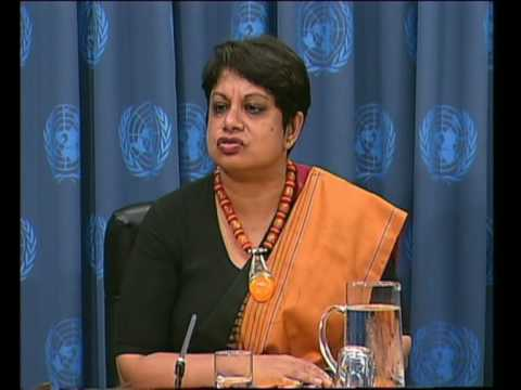 MaximsNewsNetwork: CHILDREN IN ARMED CONFLICT: UN RADHIKA COOMARASWAMY