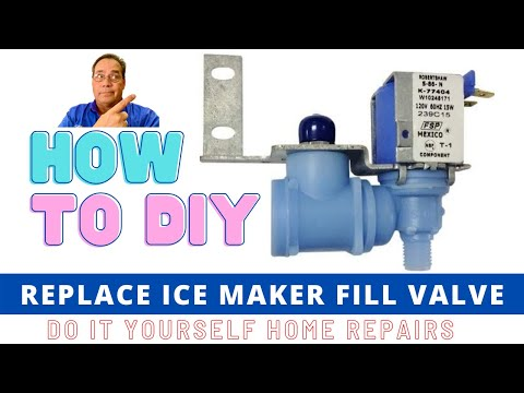 Ice Maker Fill Valve Replacement