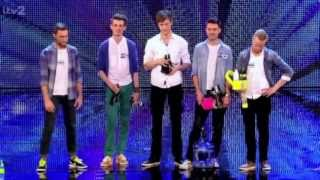 The Bottle Boys on Britain's Got Talent 2013