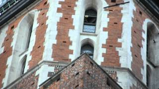 Hejnal Mariacki : Krakow Trumpeter in the Tower at St Mary's Basilica