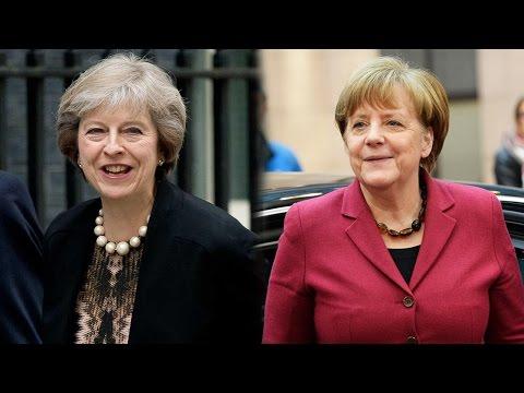 Angela Merkel invites Theresa May for talks in Berlin