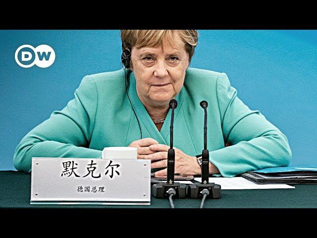 Merkel pushing for EU-China investment deal at state visit  DW News