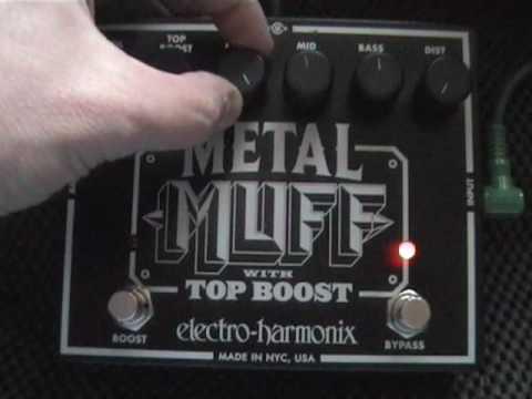 Electro Harmonix Metal Muff Demo