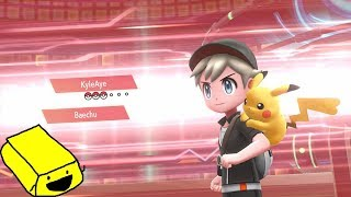 GET GREEDY ON EM' - Pokemon Let's Go Pikachu & Eevee League Wi-Fi Battle League vs KyleAye!